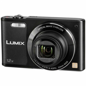 "Cámara compacta Panasonic DMC-SZ10EG-K Outlet Full HD 16Mm LCD 2.7"" zoom 12x negro"